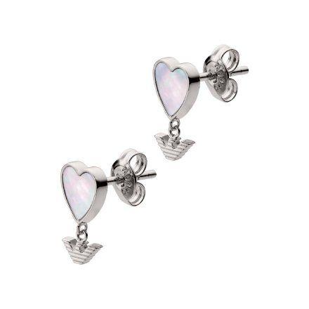 Kolczyki damskie Emporio Armani EG3413040 Oryginalna Biżuteria EA