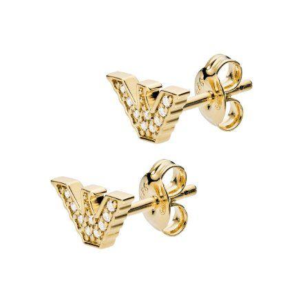 Kolczyki damskie Emporio Armani EG3423710 Oryginalna Biżuteria EA