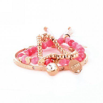 Biżuteria Guess damska bransoletki UBS80068