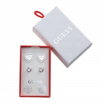 Biżuteria Guess damska kolczyki UBS29400