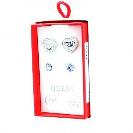Biżuteria Guess damska kolczyki UBS29401