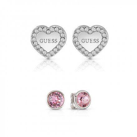 Biżuteria Guess damska kolczyki UBS29402