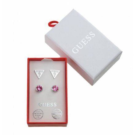 Biżuteria Guess damska kolczyki UBS29405