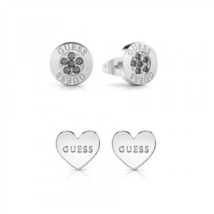 Biżuteria Guess damska kolczyki UBS29407