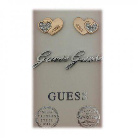 Biżuteria Guess damska kolczyki UBS29410