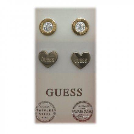 Biżuteria Guess damska kolczyki UBS29413