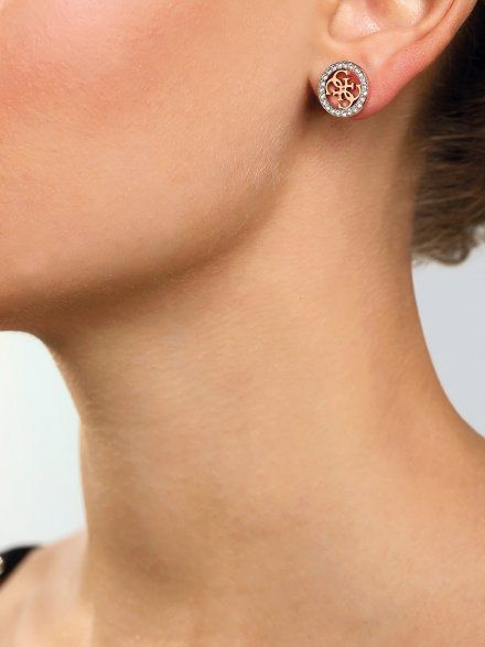 Biżuteria Guess damska kolczyki UBS29414