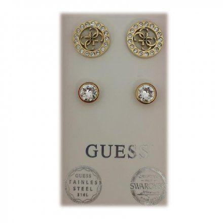 Biżuteria Guess damska kolczyki UBS29415