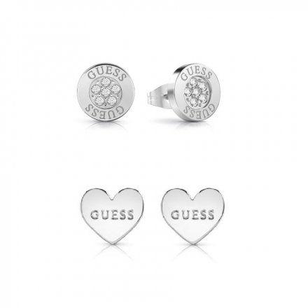 Biżuteria Guess damska kolczyki UBS29418