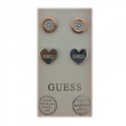 Biżuteria Guess damska kolczyki UBS29419