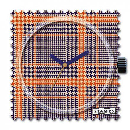 Zegarek S.T.A.M.P.S. Orange Karos 105558