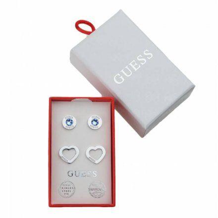 Biżuteria Guess damska kolczyki UBS29421