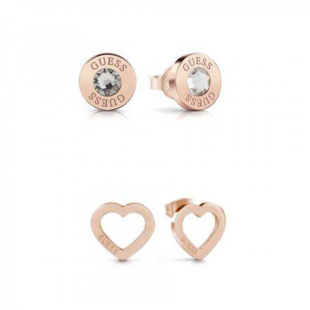 Biżuteria Guess damska kolczyki UBS29422