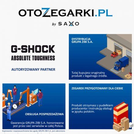 Zegarek Casio GA-140AR-1AER G-Shock GA 140AR 1A