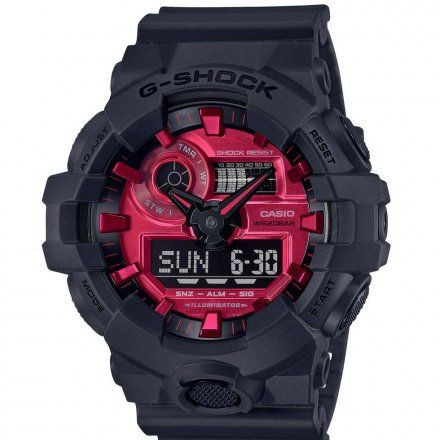 Zegarek Casio GA-700AR-1AER G-Shock GA 700AR 1A