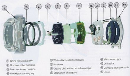 Zegarek Casio GA-2000BT-1AER G-Shock GA 2000BT 1A