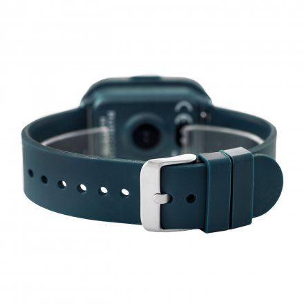 Granatowy smartwatch męski damski Rubicon RNCE38DIBX03AX