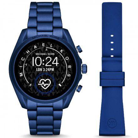 Niebieski Smartwatch Michael Kors 5 GEN MKT5102 BRADSHAW 2.0