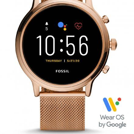 Smartwatch Fossil 5 generacja FTW6062 Julianna HR