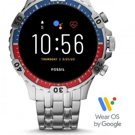 Smartwatch Fossil 5 generacja FTW4040 Garrett HR