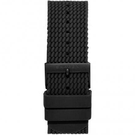 Pasek silikonowy czarny Skagen 22 mm Smartwatch SKT5202