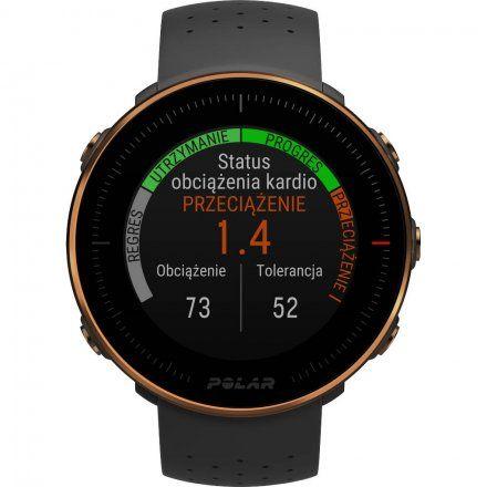 Polar VANTAGE M Czarno-miedziany zegarek z pulsometrem i GPS