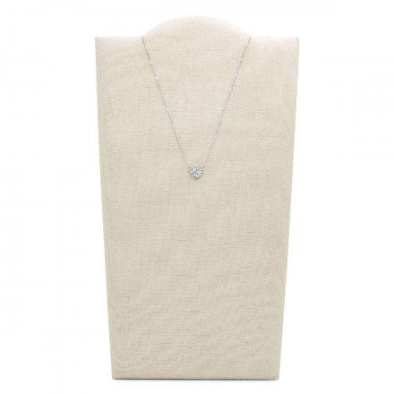 FOSSIL Srebrny naszyjnik damski Serce JF03415040