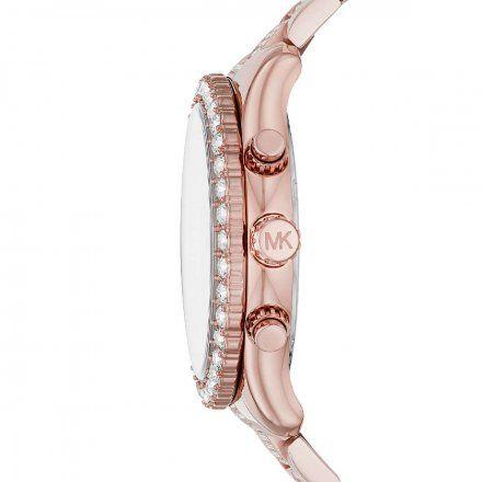 MK6791 Zegarek Damski Michael Kors różowozłoty Layton