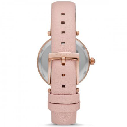 MK6808 Zegarek Damski Michael Kors Parker z różowym paskiem
