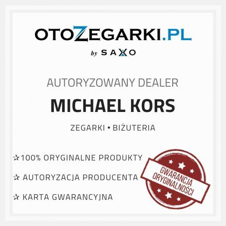 MK8781 Zegarek Męski Michael Kors Layton srebrny