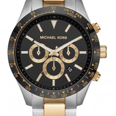 MK8784 Zegarek Męski Michael Kors Layton złoto-srebrny