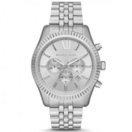 MK8789 Zegarek Męski Michael Kors Lexington srebrny