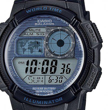 Zegarek Męski Casio AE-1000W-2A2VEF Casio Sport AE 1000W 2A2