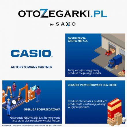 Zegarek Męski Casio AE-1000W-7AVEF Casio Sport AE 1000W 7A