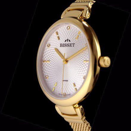 Bisset BSBF22GISX03BX Zegarek Szwajcarski Marki Bisset