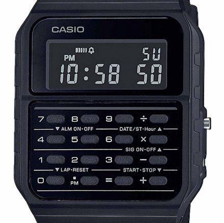 Zegarek Casio z kalkulatorem CA-53WF-1BEF Casio Vintage Retro CA 53WF 1B