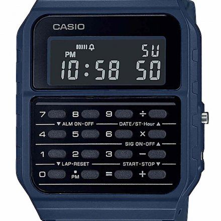 Zegarek Casio z kalkulatorem CA-53WF-2BEF Casio Vintage Retro CA 53WF 2B