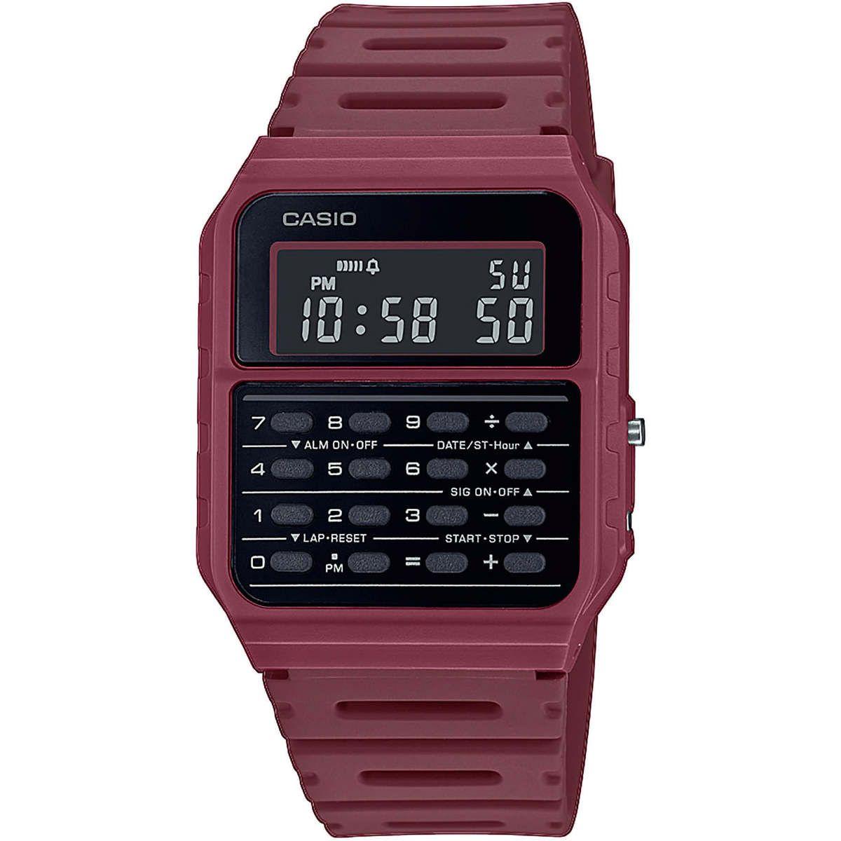 японские наручные  мужские часы Casio CA-53WF-8BEF. Digital