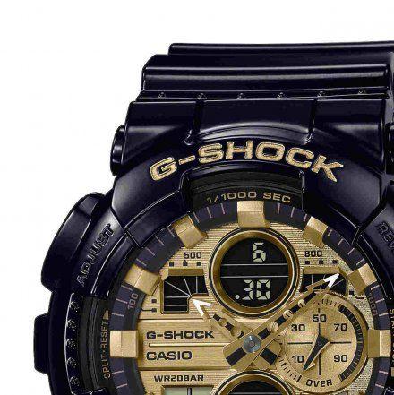 Zegarek Casio GA-140GB-1A1ER G-Shock GA 140GB 1A1