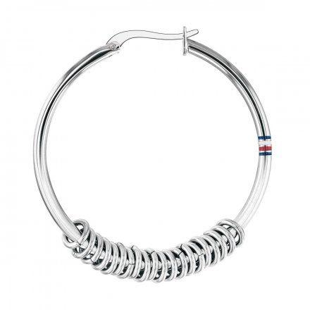 Biżuteria Tommy Hilfiger Damskie Kolczyki Srebrne 2780214