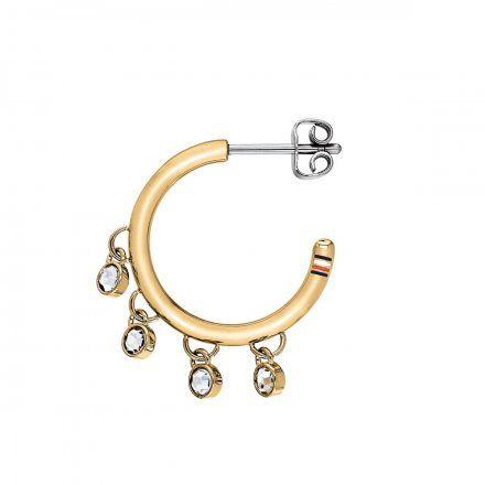 Biżuteria Tommy Hilfiger Damskie Kolczyki Srebrne 2780232