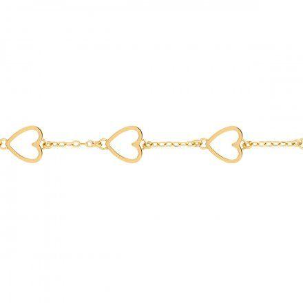 Biżuteria Tommy Hilfiger Damska Bransoletka złota 2780297