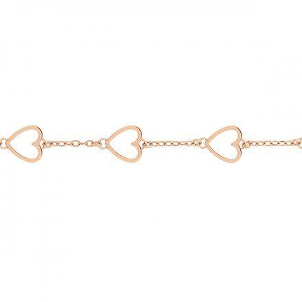 Biżuteria Tommy Hilfiger Damska Bransoletka Różowozłota 2780298