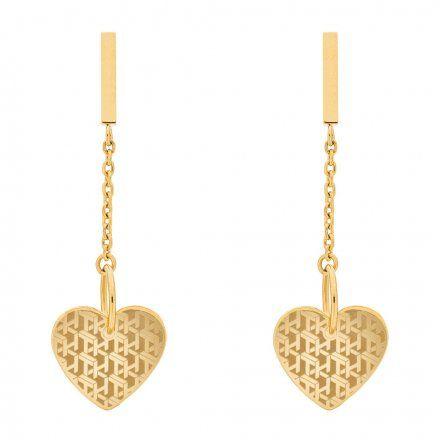 Biżuteria Tommy Hilfiger Damskie Kolczyki Złote 2780303