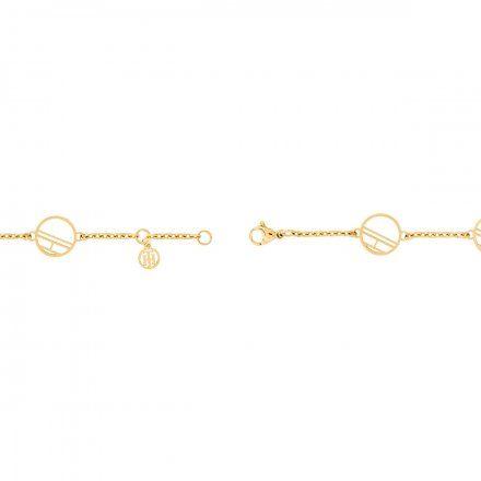 Biżuteria Tommy Hilfiger Damska Bransoletka Złota 2780326