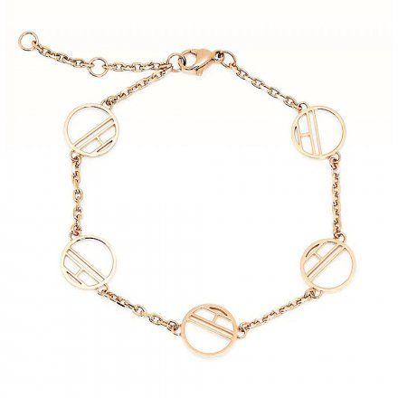 Biżuteria Tommy Hilfiger Damska Bransoletka Różowozłota 2780327
