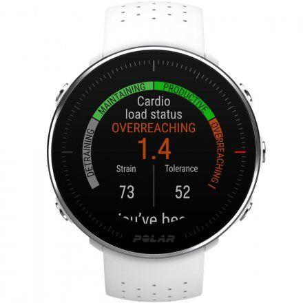Polar VANTAGE M Biały S zegarek z pulsometrem i GPS