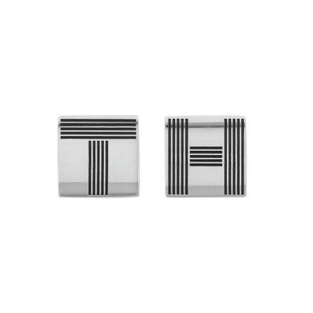 Biżuteria Tommy Hilfiger Męskie Spinki do mankietów srebrne 2790215