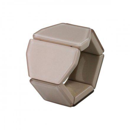 Bransoleta S.T.A.M.P.S. Belta-Y Crystal Beige 105417 1350