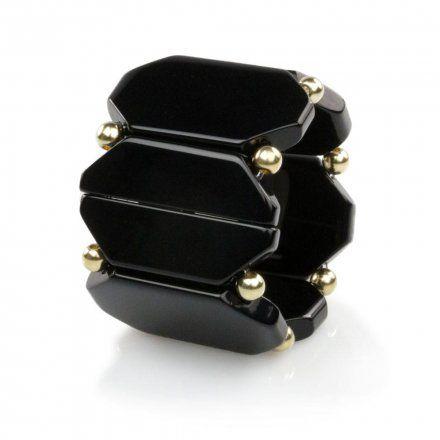 Bransoleta S.T.A.M.P.S. Belta Bead Black Gold 104891 1200